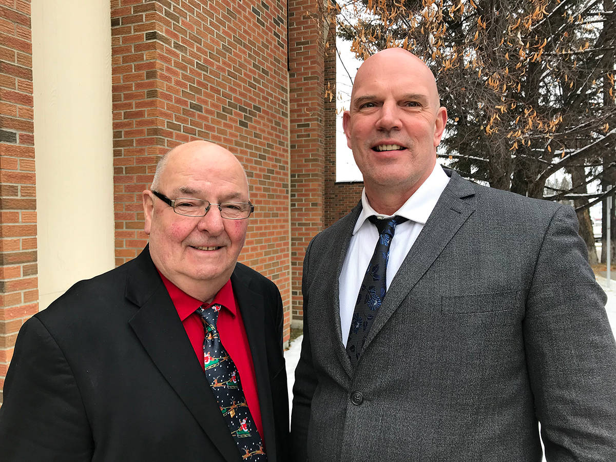 Elkford Mayor Dean McKerracher and Sparwood Mayor David Wilks have been elected Chair and Acting Chair of the Kootenay East Regional Hospital District Board. Photo courtesy of RDEK