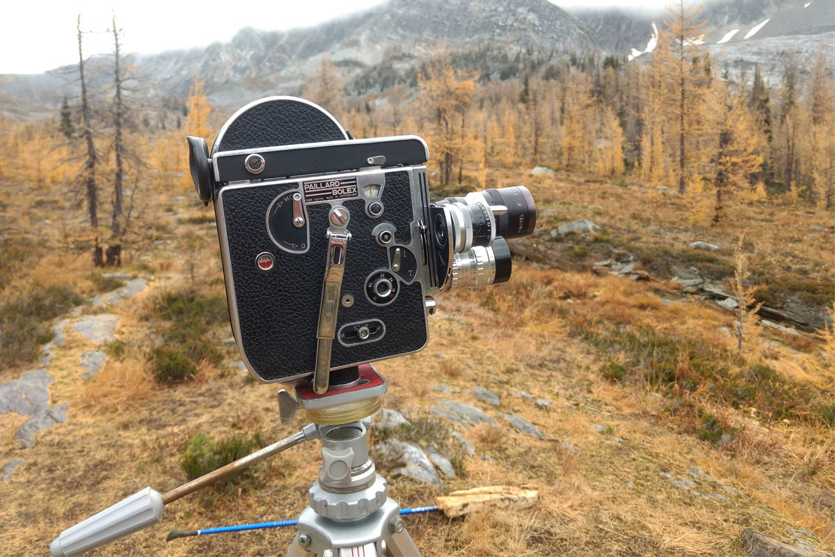 Nelson's Brian Lye specializes in 16mm film. His new exhibit opens this month at Oxygen Art Centre. Photo: Submitted