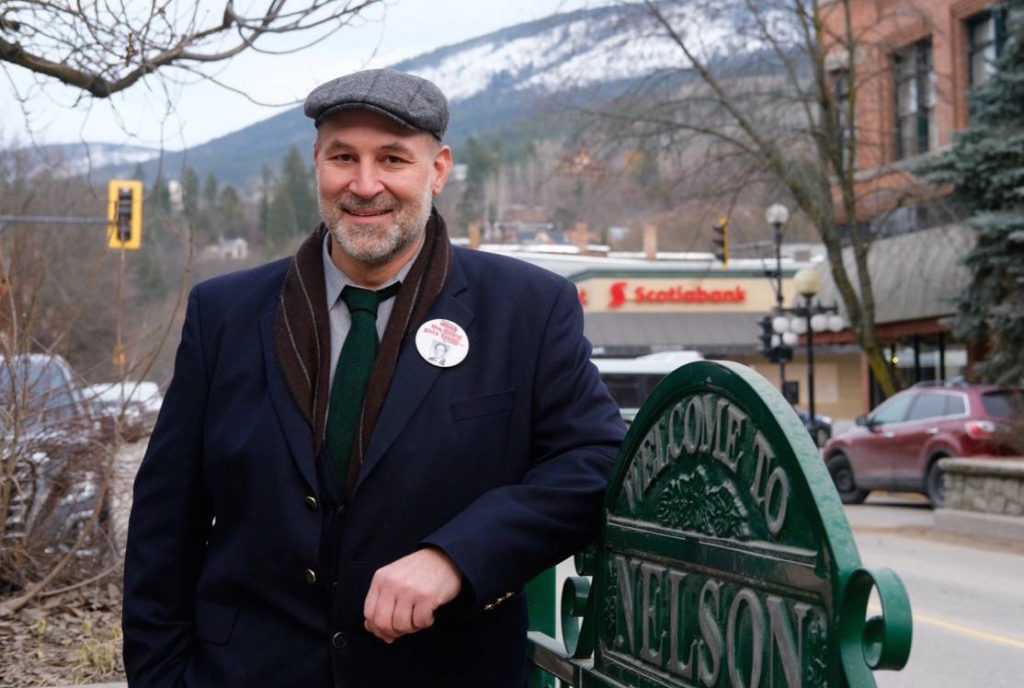 Josh Wapp is one of three candidates running in the Nelson municipal byelection on March 27. Photo: Bill Metcalfe